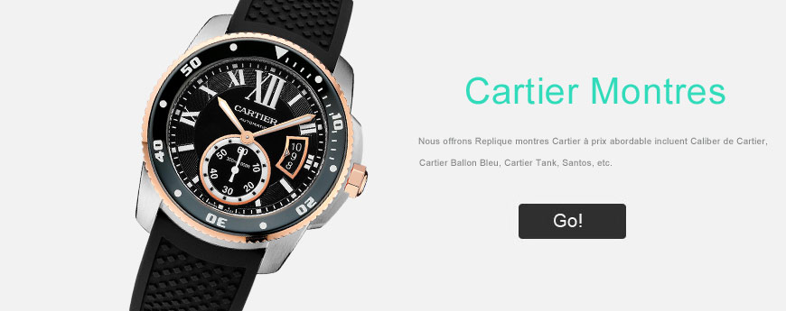 Cartier montre replique AAA
